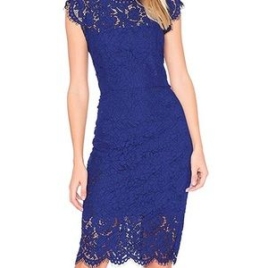 NWT Lace Floral Cocktail Dress
